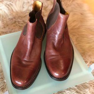 Cole Haan Brown Ankle Boot
